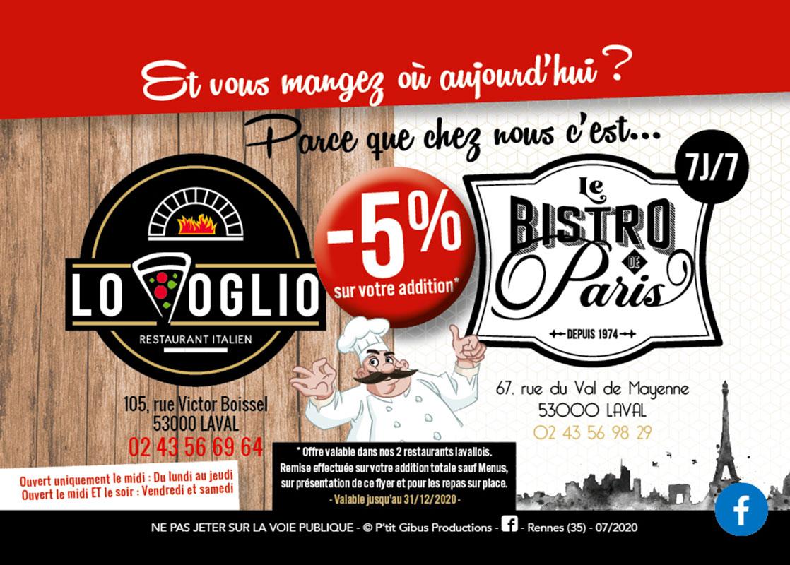 LO VOGLIO Pizzeria Laval Actualite 239